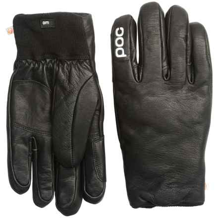 POC Extra Gloves - Leather, Insulated (For Women) in Uranium Black - Overstock