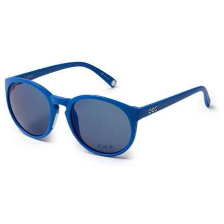 POC Know Round Sunglasses (For Women) in Krypton Blue/Hydrogen White - Overstock