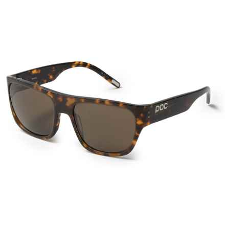 POC Was Wayfarer Sunglasses (For Men and Women) in Lanthanum Brown - Overstock