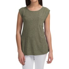 Pocket T-Shirt - Sleeveless (For Women) in Holly - 2nds