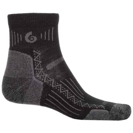 Point 6 Point6 Hiking Tech Socks - Merino Wool, Ankle (For Men and Women) in Black - Closeouts
