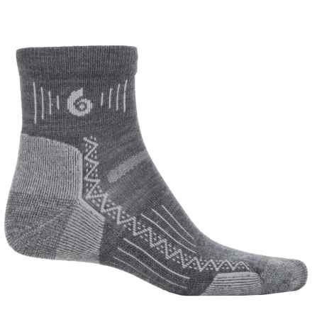 Point 6 Point6 Hiking Tech Socks - Merino Wool, Ankle (For Men and Women) in Gray - Closeouts