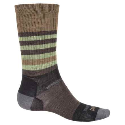 Point 6 Point6 Neptune Socks - Merino Wool, Crew (For Men and Women) in Black - Closeouts
