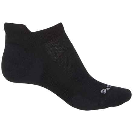 Point6 37.5® Sport Dash Micro Socks - Merino Wool, Below the Ankle (For Women) in Black - Closeouts