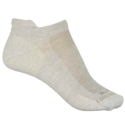 Point6 37.5® Sport Dash Micro Socks - Merino Wool, Below the Ankle (For Women) in White - Closeouts