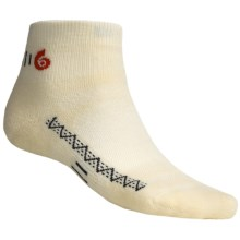 Point6 Active Mini Socks - Merino Wool Blend, Midweight (For Men and Women) in Natural - 2nds