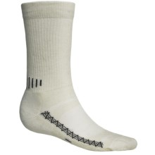Point6 Active Socks - Merino Wool, Crew (For Men and Women) in Natural - 2nds