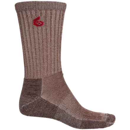 Point6 Core Hiking Socks - Merino Wool, Crew (For Men and Women) in Earth - Closeouts