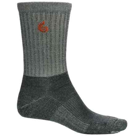 Point6 Core Hiking Socks - Merino Wool, Crew (For Men and Women) in Gray - Closeouts
