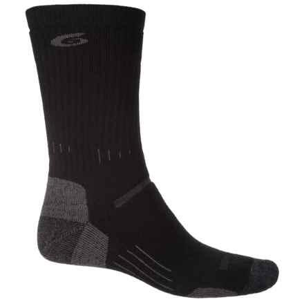 Point6 Defender Socks - Merino Wool, Crew (For Men) in Black - 2nds