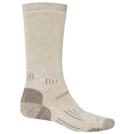 Point6 Defender Socks - Merino Wool, Crew (For Men) in Desert Sand - 2nds