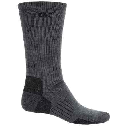 Point6 Defender Socks - Merino Wool, Crew (For Men) in Grey - 2nds