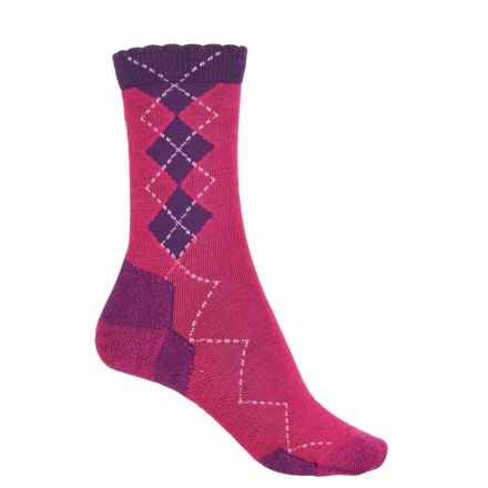 Point6 Freshman Socks - Merino Wool, 3/4 Crew (For Women) in Lipstick - Closeouts