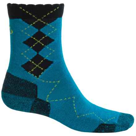 Point6 Freshman Socks - Merino Wool, 3/4 Crew (For Women) in Turquoise - Closeouts