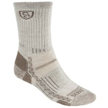 Point6 Hiking Tech 810 Socks - Merino Wool, Midweight, Crew (For Men and Women) in Sand - Closeouts