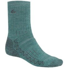 Point6 Hiking Tech Heavyweight Socks - Merino Wool, Mid-Calf (For Men) in Ocean - Closeouts
