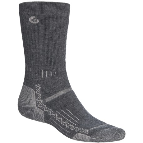 Point6 Hiking Tech Medium-Weight Socks - Merino Wool, Crew (For Men and Women)