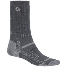 Point6 Hiking Tech Midweight Socks - Merino Wool, Crew (For Men and Women) in Gray - Closeouts