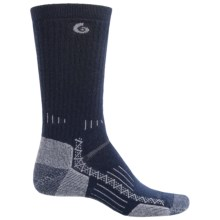 Point6 Hiking Tech Midweight Socks - Merino Wool, Crew (For Men and Women) in Navy - Closeouts