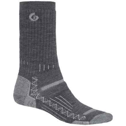 Point6 Hiking Tech Midweight Socks - Merino Wool, Crew (For Men) in Gray - Closeouts
