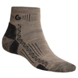 Point6 Hiking Tech Socks - Merino Wool Blend, Midweight, Mini Crew (For Men and Women)