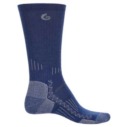 Point6 Hiking Tech Socks - Merino Wool, Crew (For Men and Women) in Navy - Closeouts