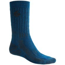 Point6 Hiking Tech Socks - Merino Wool, Extra Heavyweight, Mid-Calf (For Men and Women) in Ascent Blue - Closeouts