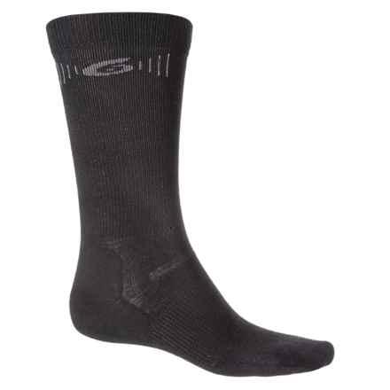 Point6 Hiking Tech Ultralight Socks - Merino Wool, Crew (For Men and Women) in Black - Closeouts