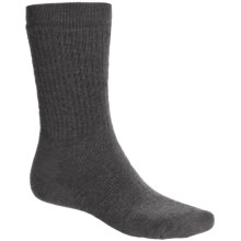 Point6 Lifestyle Medium-Weight Socks - Merino Wool, Crew (For Men and Women) in Grey - 2nds