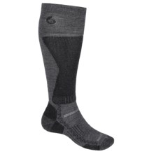 Point6 Lightweight Boot Socks - Merino Wool Blend, Over the Calf (For Men) in Gray - 2nds