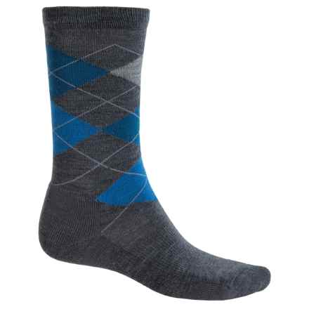 Point6 Liverpool Socks - Merino Wool, Crew (For Men and Women) in Gray - Closeouts