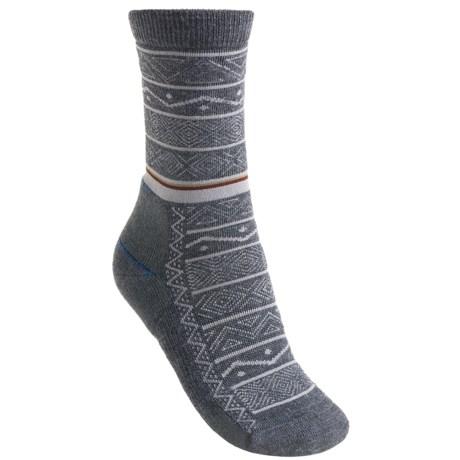 Point6 Nordic Stripe Light Socks - Merino Wool, 3/4-Crew (For Women)