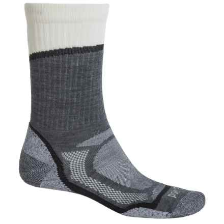 Point6 Overlook Socks - Merino Wool, Crew (For Men and Women) in Gray - Closeouts