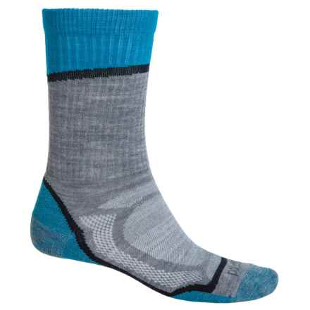 Point6 Overlook Socks - Merino Wool, Crew (For Men and Women) in Stone - Closeouts