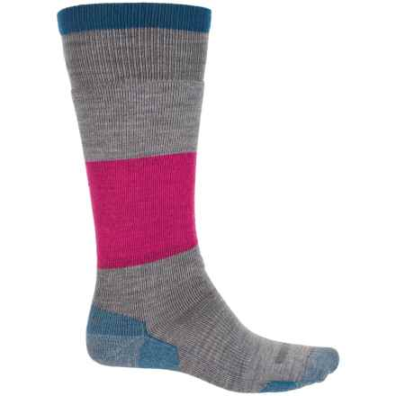 Point6 Powerhouse Snowboard Socks - Merino Wool, Over the Calf (For Men and Women) in Stone - Closeouts