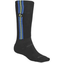 Point6 Pro Parallel Ski Socks - Merino Wool Blend, Over-the-Calf (For Men and Women) in Black - 2nds