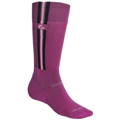 Point6 Pro Parallel Ski Socks - Merino Wool Blend, Over-the-Calf (For Men and Women)