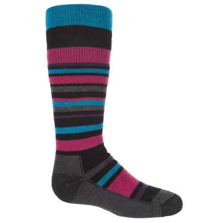 Point6 Rumble Socks - Merino Wool, Over the Calf (For Kids and Youth) in Black - Closeouts