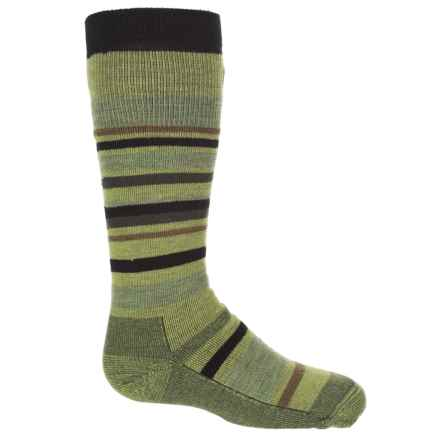 Point6 Rumble Socks - Merino Wool, Over the Calf (For Kids and Youth) in Lime - Closeouts