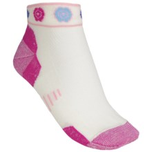 Point6 Running Katie Ultralight Socks - Merino Wool, Ankle (For Men and Women) in Fuchsia - 2nds