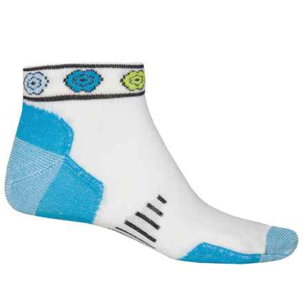 Point6 Running Katie Ultralight Socks - Merino Wool, Ankle (For Women) in Turquoise - Closeouts