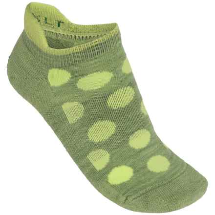 Point6 Speckle Extra Light Micro Socks - Merino Wool Blend, Below-the-Ankle (For Women) in Leaf - Closeouts