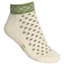 Point6 Stars Socks - Merino Wool, Ankle (For Women) in Natural - 2nds
