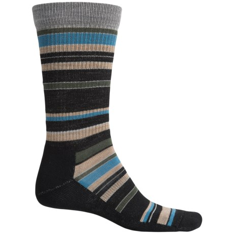 Point6 Stax Light Socks - Merino Wool, Crew (For Men and Women)