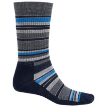 Point6 Stax Light Socks - Merino Wool, Crew (For Men and Women) in Dark Navy - 2nds