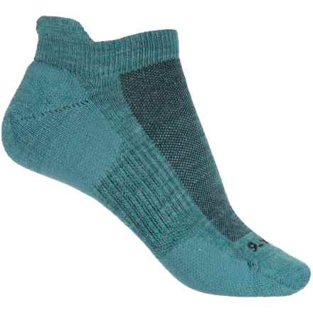 Point6 Tab Ultralight Running Socks - Merino Wool, Below the Ankle (For Women) in Ocean - Closeouts