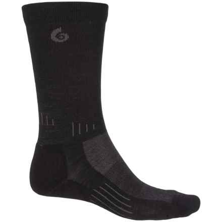 Point6 Tactical Liberty Socks - Merino Wool, Crew (For Men) in Black - Closeouts