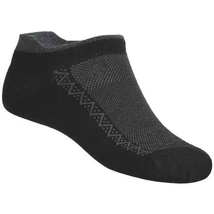 Point6 Ultralight Running Socks (For Men and Women) in Black/Grey - 2nds