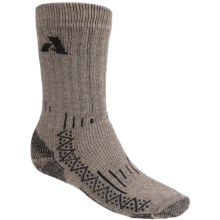 Point6 Very Heavy Summit Socks - Merino Wool, Crew (For Men and Women) in Taupe - 2nds