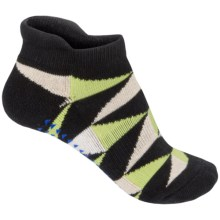 Pointe Studio Avalon Grip Socks - Below the Ankle (For Women) in Black - Closeouts